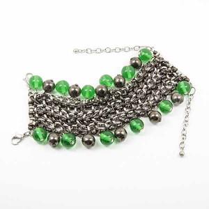 Bracelet en métal tressé