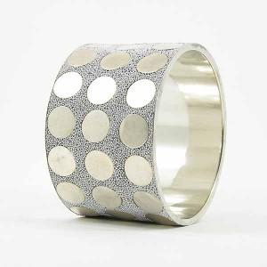 Bracelet Bangle Middle Silver