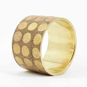 Bracelet Bangle Middle Oro Latin